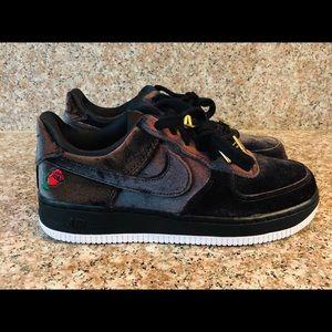 NEW Nike Air Force 1 Low AF1 Velvet Black